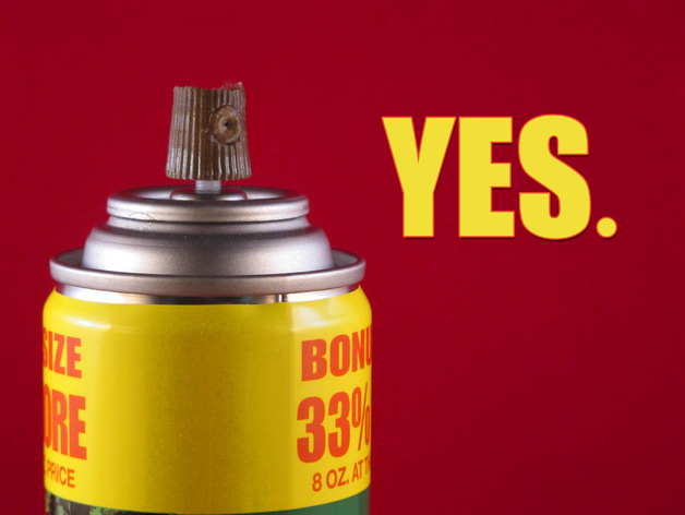 Spray Can Cap