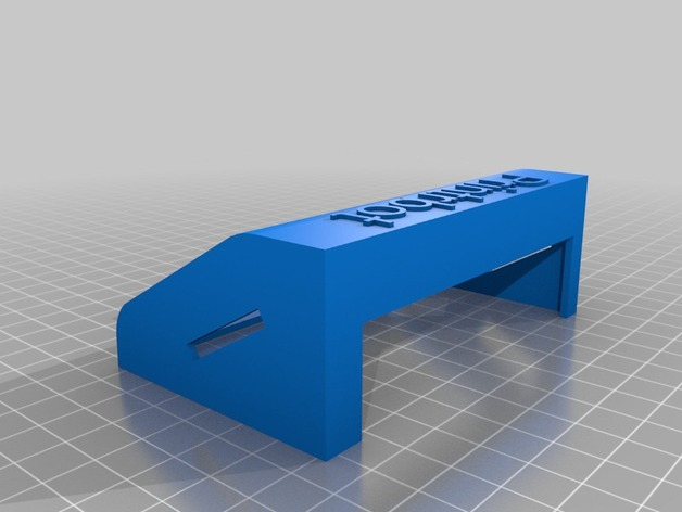 LCD holder for the Printrbot