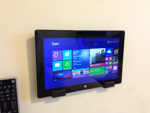 Microsoft Surface Pro 2 Wall Mount By Ljohnson7302