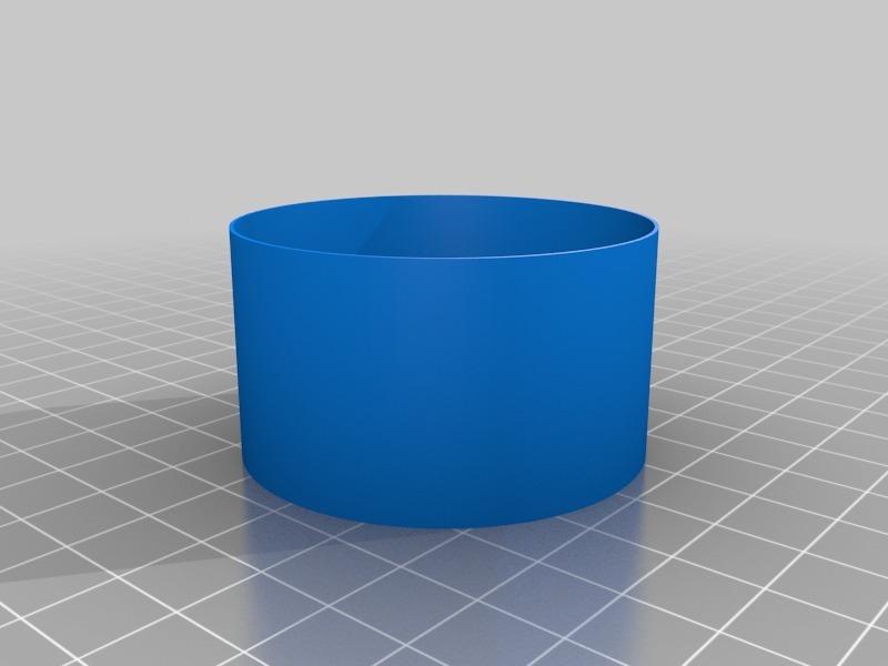 1 inch wide, 1 inch tall test cylinder vase