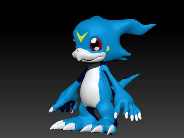 Veemon by xeratdragons - Thingiverse