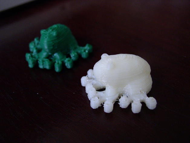 Makerbot Frogs