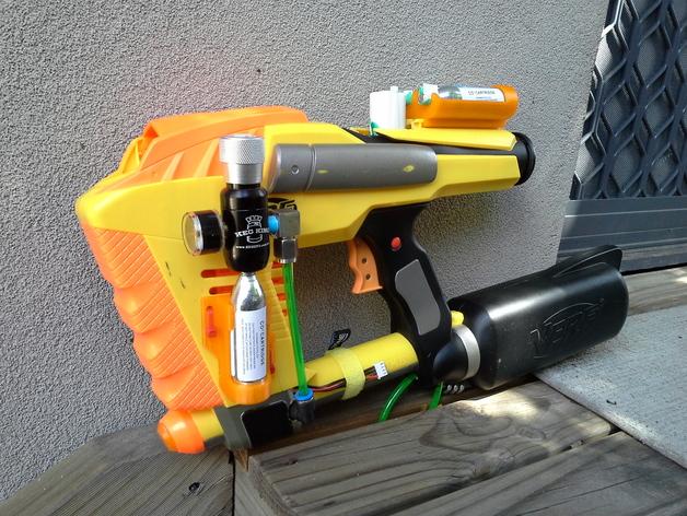 Image Result For Nerf Mega Guns