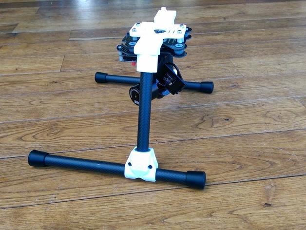 sky hero landing t nut adapter for 15 mm tube legs by. Black Bedroom Furniture Sets. Home Design Ideas