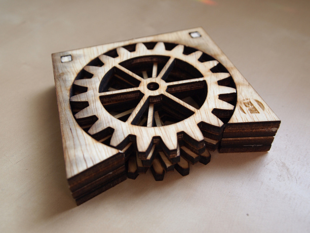Gear Coasters By Eweinhoffer Thingiverse