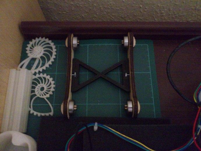 "Printrbot spool holder ""upgrade"""
