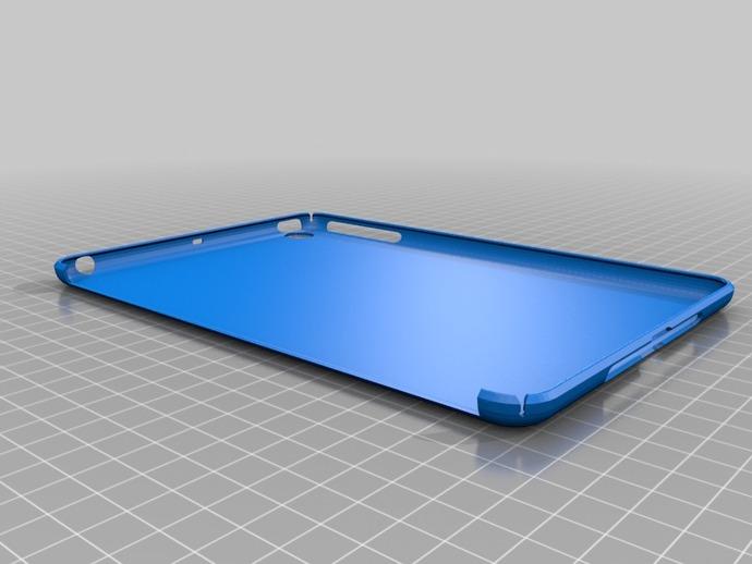 Ipad Mini Blank Case By Gromfrog Thingiverse