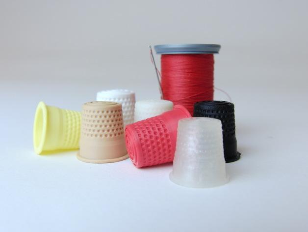 3D printed thimbles