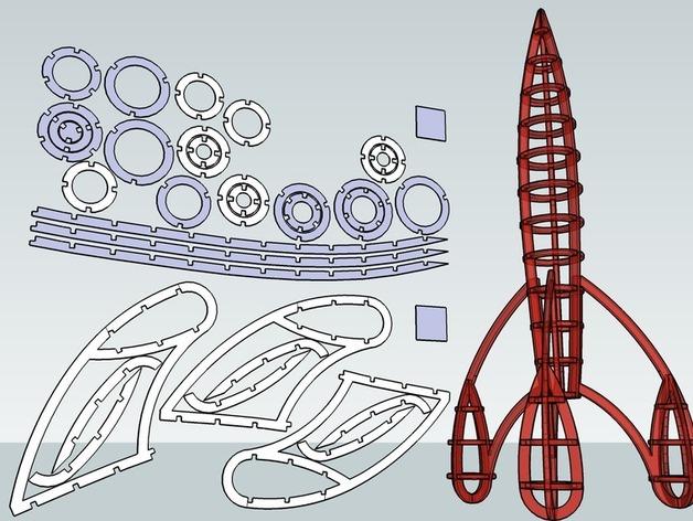 how to make a large rocket blender download