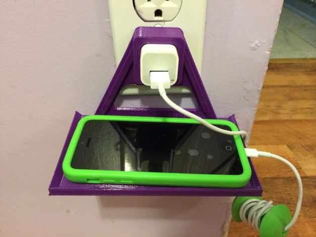 Wall Outlet Cellphone Holder Iphone Amp Ipod Remix By