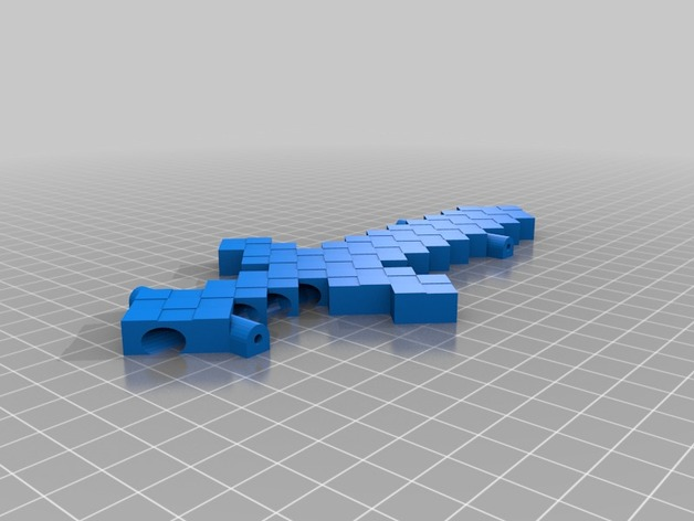 Pinewood Derby Minecraft Sword Car By Seadevil Thingiverse