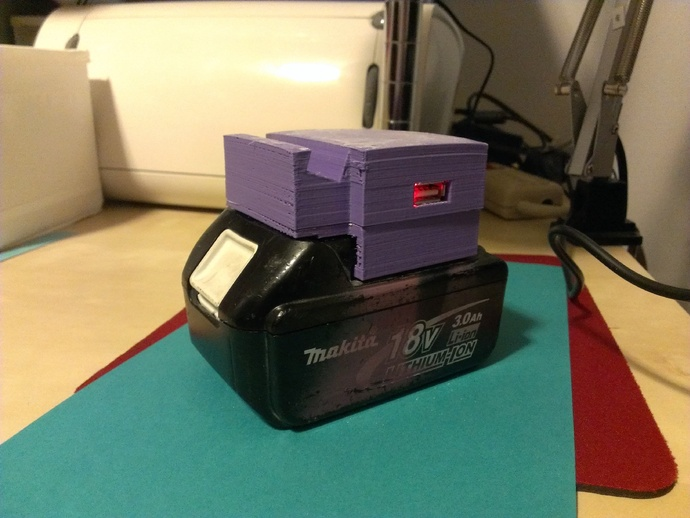 Makita Lxt Usb Charger By Apachexmd Thingiverse