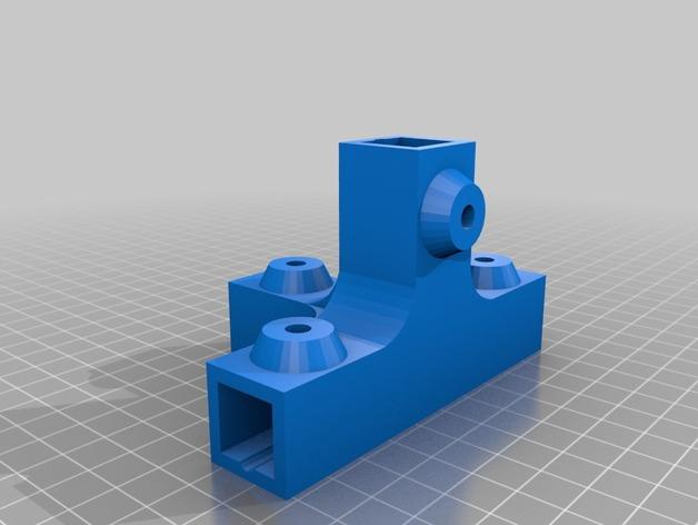 3d gedruckte teile f r 15 mm alu profile vom baumarkt kinder und technik. Black Bedroom Furniture Sets. Home Design Ideas