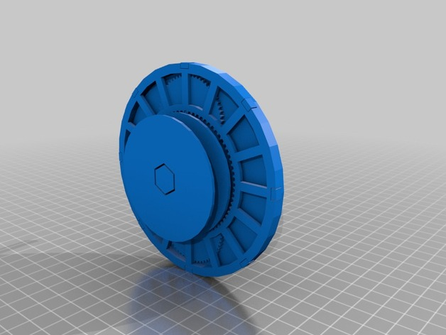 1:36 Compound Planetary Gear