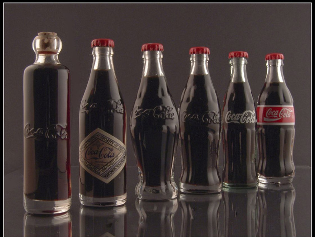 Original Coke Bottle Set