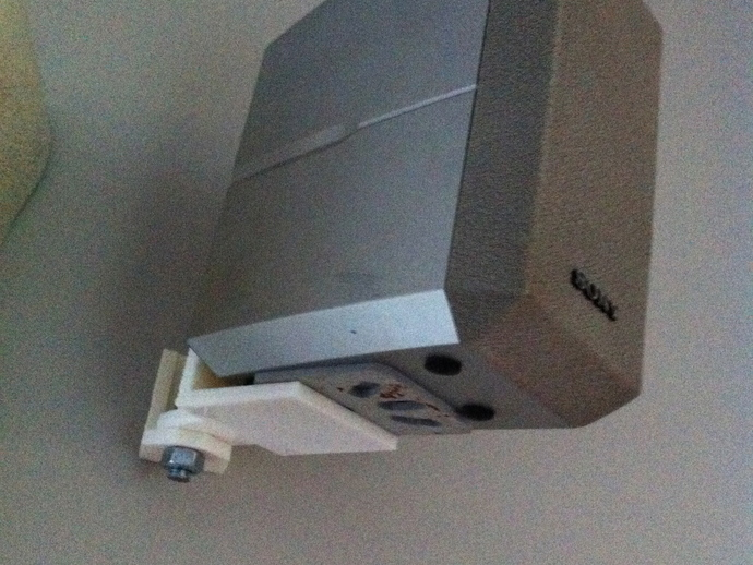 Wall Mount For A Sony Home Theater Speaker By Petergross3