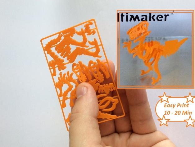 Velociraptor Business Card