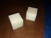 hollow calibration cube