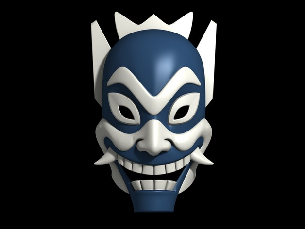 Blue Spirit Mask - Avatar: The Last Airbender