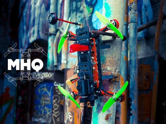Hovership MHQ - Foldable Mini H-Quadcopter