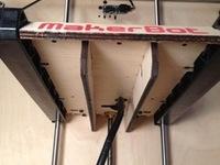 MakerBot Replicator HBP Stiffeners