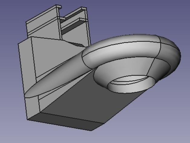 Starship Fan Duct for Prusa RepRap