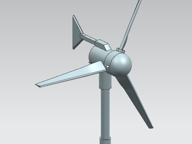 Small Wind Turbine By Heavycreations Thingiverse