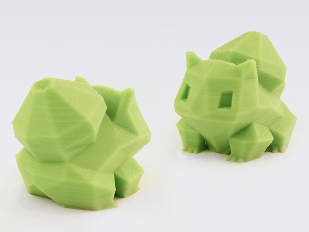 Low-Poly Bulbasaur