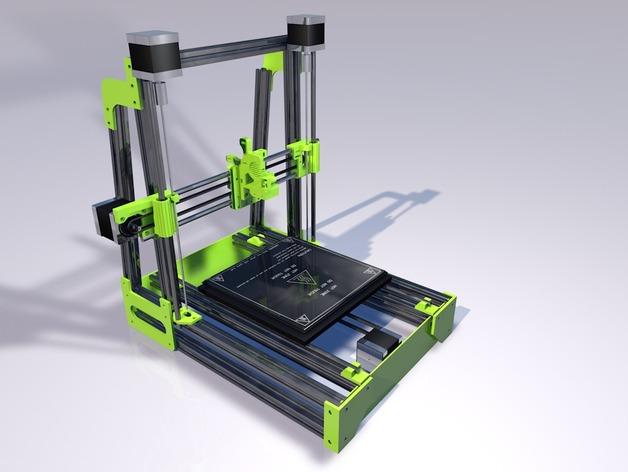 MendelMax 2.0 Printed Parts