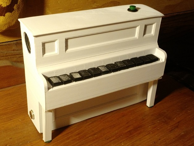 3d printer pianotje