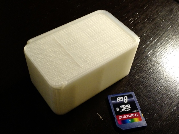 Large Divided Box with Sliding Lid
