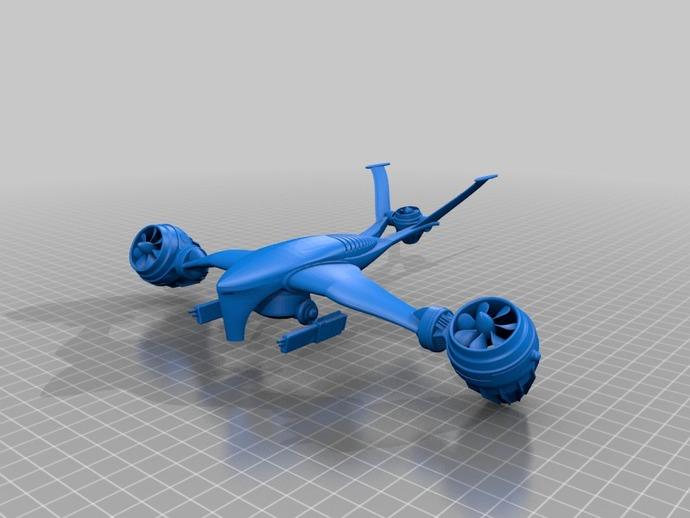 T-1 Aerial aka Hunter Killer Drone