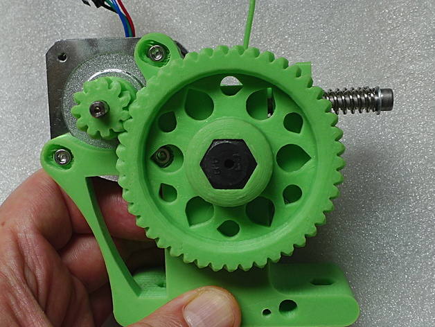 Ultimate Greg's Wade's Geared Extruder - 30mm version