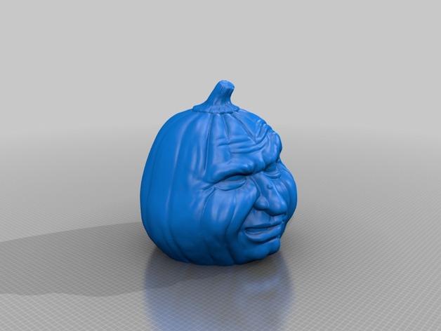 Grumpy Pumkin flat bottom