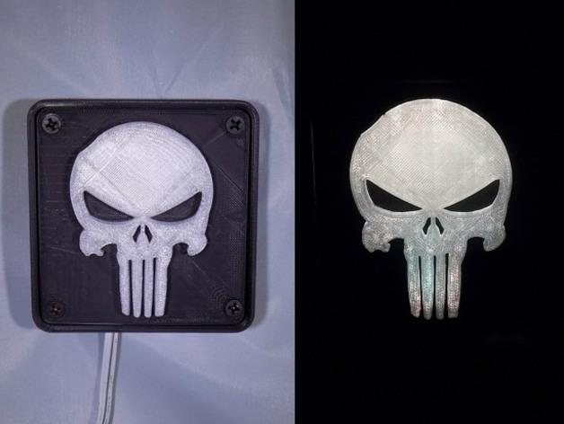 Punisher LED Light/Nightlight