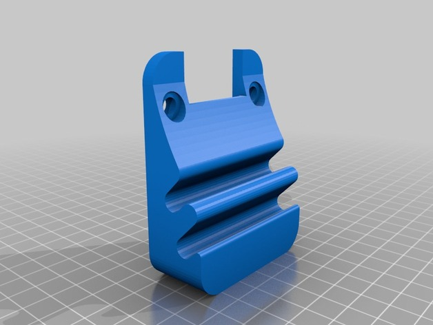 wall mount pencil and caliper holder by danjw thingiverse. Black Bedroom Furniture Sets. Home Design Ideas