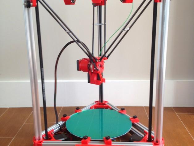 Kossel 250 V-Slot 3D Printer - DIY Kit
