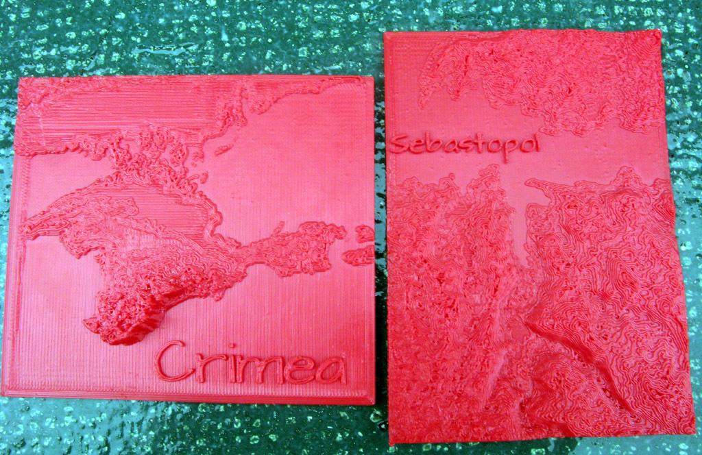 Crimea and Sebastopol in Relief