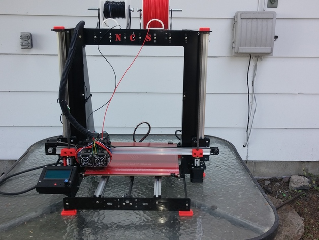 NORTH COUNTRY SPECIALTIES 12 inch 3d printer the NCS PRUSA i3v Steel