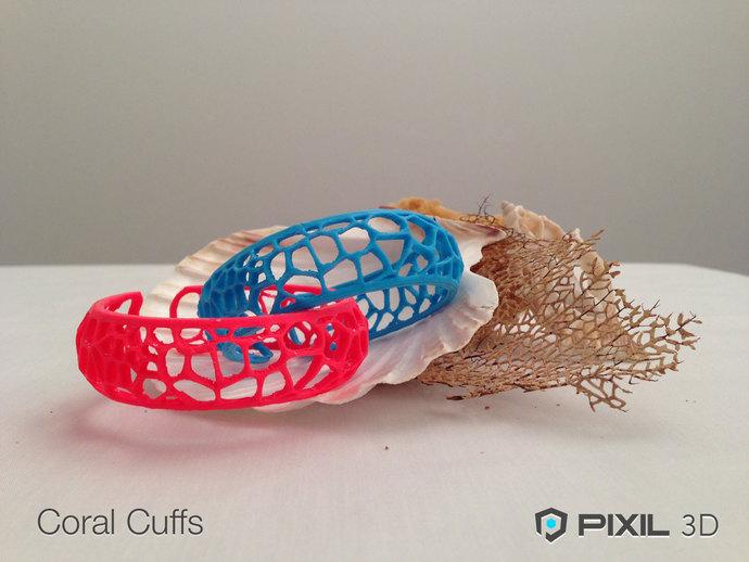 Coral Cuffs