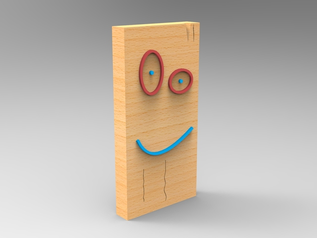 Plank - From Ed, Edd n Eddy by augustohs - Thingiverse