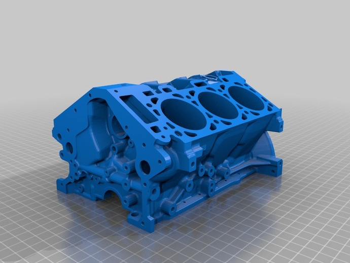 Ford Engine Block By Ford Thingiverse