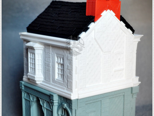 Victorian house construction set by 3dwork for Victorian home construction