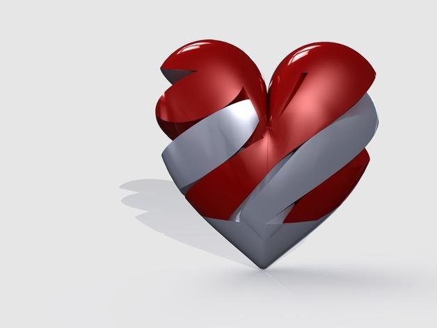heart-shaped screw-box