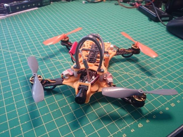 Super X 125mm FPV racer conversion kit