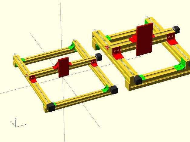 Super Parametric tslot framework with samples