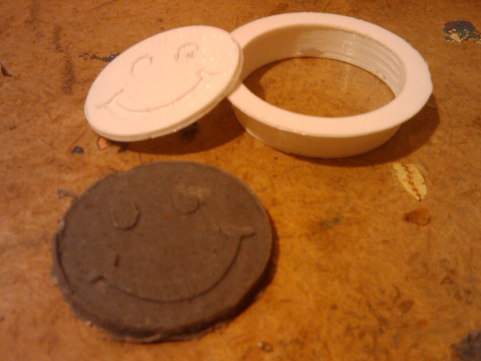 playdough smile