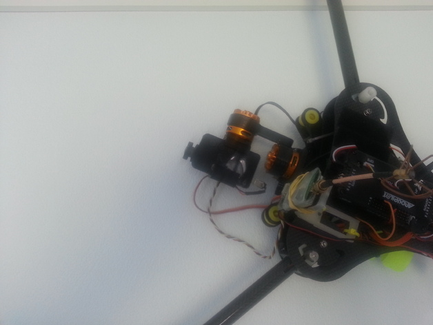 Talon Tricopter brushless gimbal for mobius