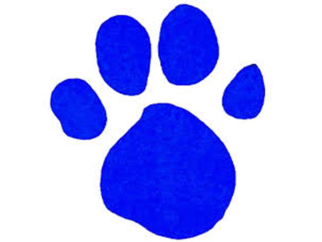 Blue's Clues Paw Print by Yuyuy75 - Thingiverse