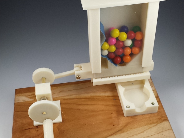 Gumball Machine By Welwell Thingiverse